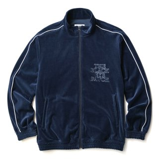 VELOUR JACKET(NAVY)