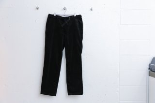 TOWN TROUSERS CORD(BLACK)