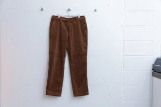 TOWN TROUSERS CORD(BROWN)