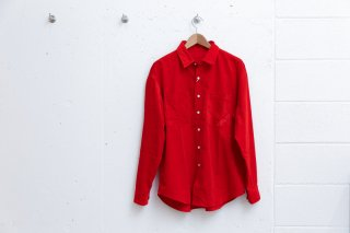P SHIRT CORD(RED)