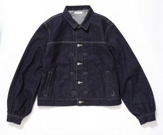 PUFF DENIM JACKET(INDIGO)