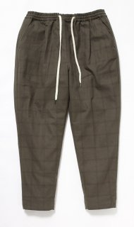 NELL DABO PANTS(KHAKI CHECK)