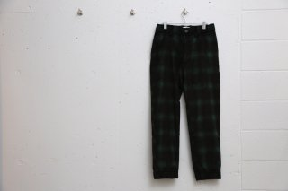 CHECK EASY PANTS(GREEN CHECK)