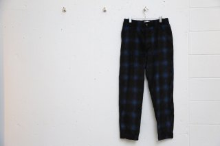 CHECK EASY PANTS(BLUE CHECK)