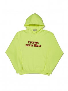 <img class='new_mark_img1' src='//img.shop-pro.jp/img/new/icons5.gif' style='border:none;display:inline;margin:0px;padding:0px;width:auto;' />Forever nevermore hoodie(NEON YELLOW)