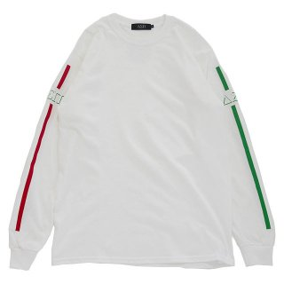 STRIPES L/S TEE (WHITE 2)