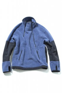 <img class='new_mark_img1' src='//img.shop-pro.jp/img/new/icons5.gif' style='border:none;display:inline;margin:0px;padding:0px;width:auto;' />CLASSIC DOUBLE FRONT OPEN PULLOVER(BLUE)