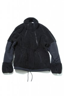 <img class='new_mark_img1' src='//img.shop-pro.jp/img/new/icons5.gif' style='border:none;display:inline;margin:0px;padding:0px;width:auto;' />CLASSIC DOUBLE FRONT OPEN PULLOVER(BLACK)