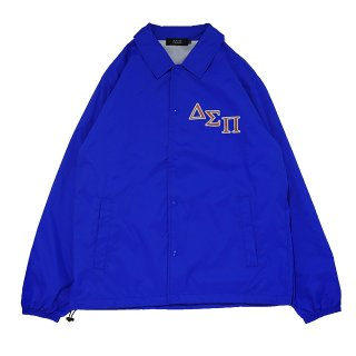 OUTLINE MAGIC CIRCLE COACH JACKET(BLUE)