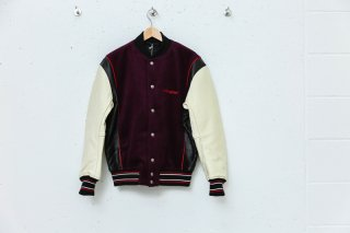 <img class='new_mark_img1' src='//img.shop-pro.jp/img/new/icons5.gif' style='border:none;display:inline;margin:0px;padding:0px;width:auto;' />FNM VARSITY JACKET(PURPLE)