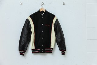 <img class='new_mark_img1' src='//img.shop-pro.jp/img/new/icons5.gif' style='border:none;display:inline;margin:0px;padding:0px;width:auto;' />FNM VARSITY JACKET(BLACK)