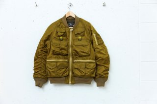 <img class='new_mark_img1' src='//img.shop-pro.jp/img/new/icons5.gif' style='border:none;display:inline;margin:0px;padding:0px;width:auto;' />MULTI POCKET BOMBER JACKET(MUSTARD)
