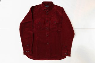 <img class='new_mark_img1' src='//img.shop-pro.jp/img/new/icons5.gif' style='border:none;display:inline;margin:0px;padding:0px;width:auto;' />CORDUROY SHIRT(BURGUNDY)