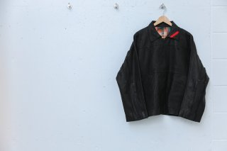 DEEP ZIP RUN JACKET(ブラック)