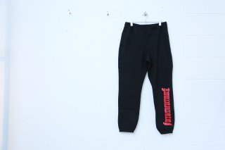 <img class='new_mark_img1' src='//img.shop-pro.jp/img/new/icons5.gif' style='border:none;display:inline;margin:0px;padding:0px;width:auto;' />FNM TERRY SWEAT PANT(BLACK)