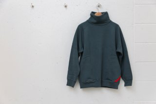 TURTLE NECK SWEAT(カーキグレー)