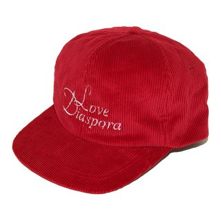 <img class='new_mark_img1' src='//img.shop-pro.jp/img/new/icons5.gif' style='border:none;display:inline;margin:0px;padding:0px;width:auto;' />NOROLL LOVE DIASPORA CORDUROY 6-PANEL (RED)
