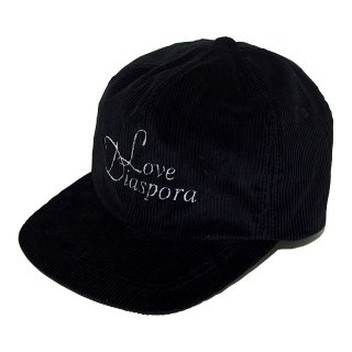 NOROLL LOVE DIASPORA CORDUROY 6-PANEL (BLACK)
