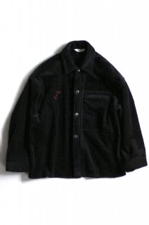 <img class='new_mark_img1' src='//img.shop-pro.jp/img/new/icons5.gif' style='border:none;display:inline;margin:0px;padding:0px;width:auto;' />CORDUROY SHIRT JACKET(BLACK)