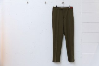 COLOR SLACKS(KHAKI)