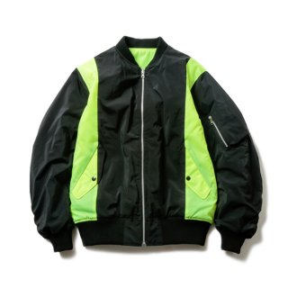 COMBINED BOMBER(BLACK×VOLT YELLOW)