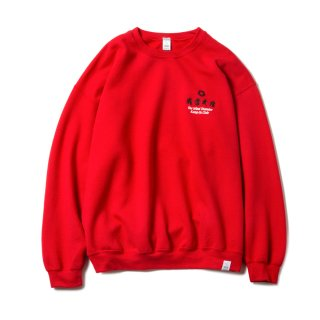 KUNG FU CLUB SURVENIR SWEAT SHIRT(RED)