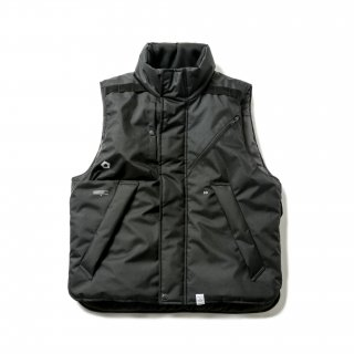 P.D.W. TACTICAL VEST BY AVIREX(BLACK)