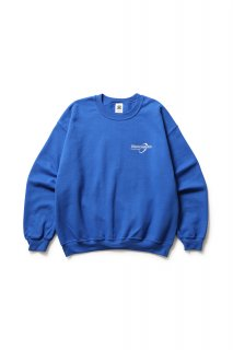 SOLUTIONS CREWNECK(BLUE)