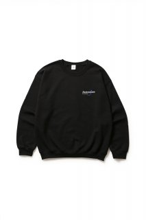 SOLUTIONS CREWNECK(BLACK)