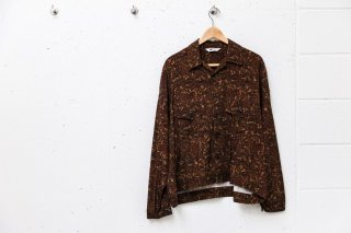 <img class='new_mark_img1' src='//img.shop-pro.jp/img/new/icons5.gif' style='border:none;display:inline;margin:0px;padding:0px;width:auto;' />Short Jacket Paisley Pattern(BROWN)