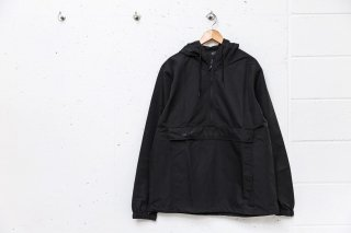LONG LETTER MAGIC CIRCLE ANORAK JACKET (BLACK)