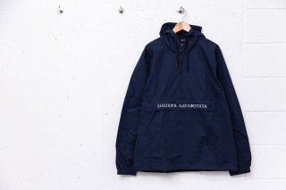 LONG LETTER MAGIC CIRCLE ANORAK JACKET (NAVY)