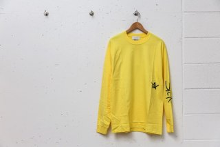 <img class='new_mark_img1' src='//img.shop-pro.jp/img/new/icons5.gif' style='border:none;display:inline;margin:0px;padding:0px;width:auto;' />SICK L/S TEE (YELLOW)