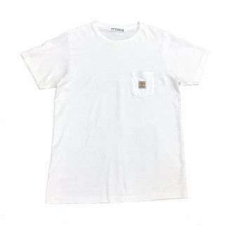 LOGO POCKET TEE(WHITE)