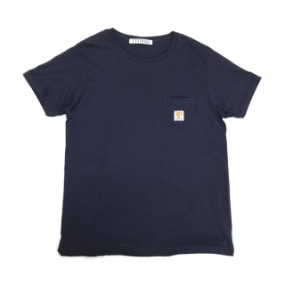 <img class='new_mark_img1' src='//img.shop-pro.jp/img/new/icons5.gif' style='border:none;display:inline;margin:0px;padding:0px;width:auto;' />LOGO POCKET TEE(NAVY)