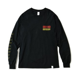MASSACRE VIDEO PRODUCTION LS TEE(BLACK)