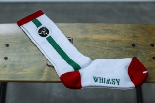 WHIMSY 32/1 POESSION SOCKS(WHITE)