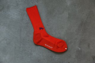 WHIMSY 42/1 EMJAY SOCKS(ORANGE)