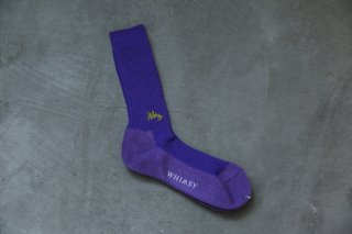 WHIMSY 42/1 EMJAY SOCKS(PURPLE)