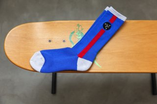 WHIMSY 32/1 POESSION SOCKS(ROYAL)