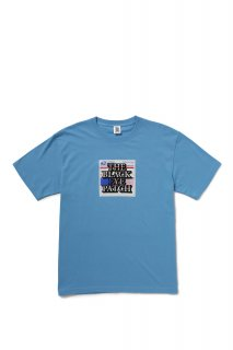 LABEL TEE(LIGHT BLUE)