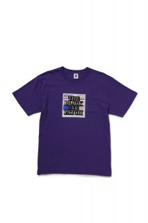 LABEL TEE(PURPLE)