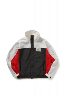 <img class='new_mark_img1' src='//img.shop-pro.jp/img/new/icons5.gif' style='border:none;display:inline;margin:0px;padding:0px;width:auto;' />TRACKING NYLON JACKET(WHITE)