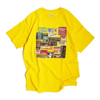 CLUB BANGERS TEE(YELLOW)