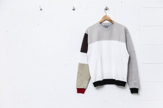 <img class='new_mark_img1' src='//img.shop-pro.jp/img/new/icons5.gif' style='border:none;display:inline;margin:0px;padding:0px;width:auto;' />COLOOR BLOCK SWEAT SWEATSHIRT(MULTI A)