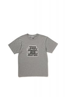 STICKER LOGO TEE(GREY)