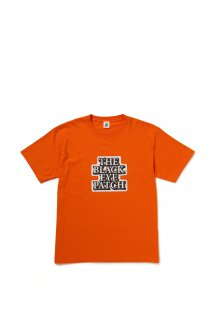 STICKER LOGO TEE(ORANGE)