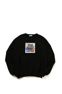 LABEL CREWNECK(BLACK)