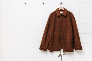 Poodle Jacket with Parachute Cord(BROWN)