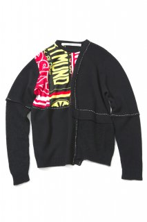 <img class='new_mark_img1' src='//img.shop-pro.jp/img/new/icons5.gif' style='border:none;display:inline;margin:0px;padding:0px;width:auto;' />Layered Sweater(BLACKxBLACK)